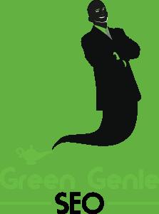 Green Genie SEO Logo